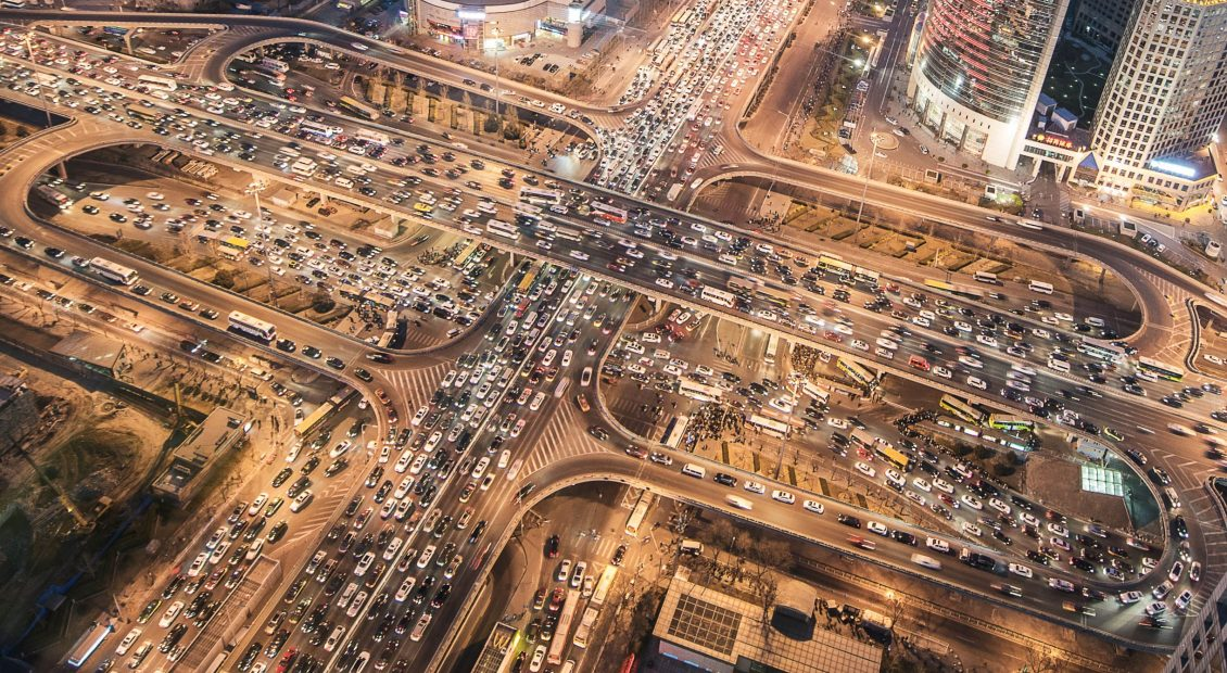 Photo of traffic congestion in a city