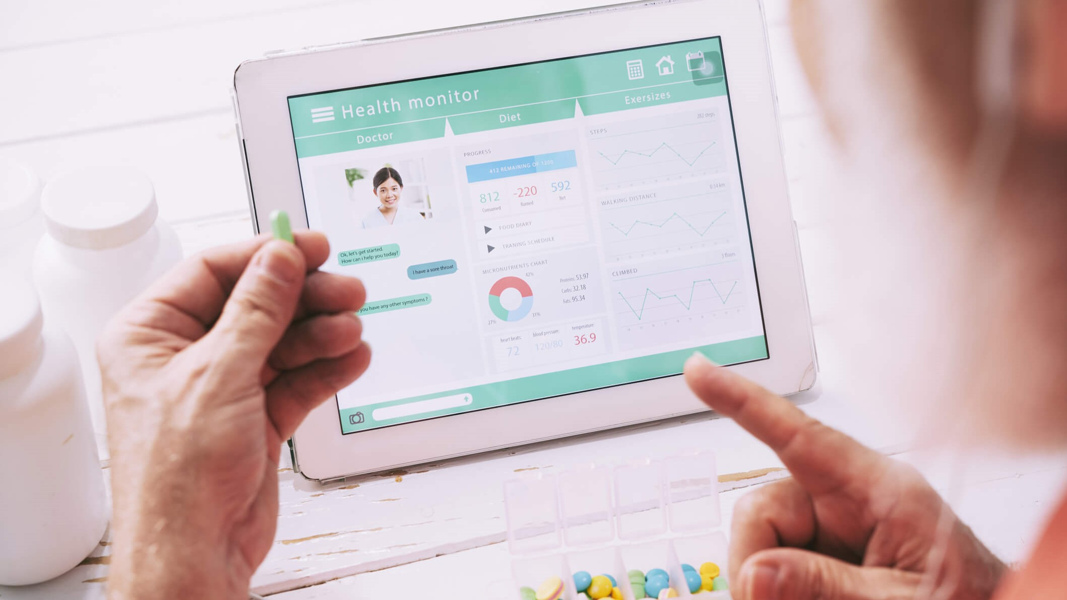 How telcos can coordinate care of the elderly healthcare
